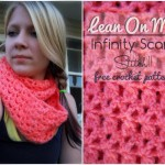 Lean On Me - Free Infinity Scarf Crochet Pattern by Stitch11