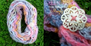 Artfully Simple Infinity Scarf - Free Crochet Pattern