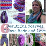 Six Beautiful Scarves I have made and love