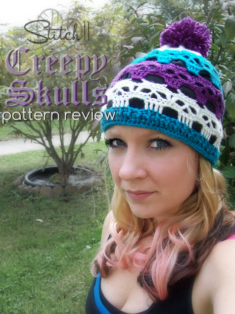 Crochet Skull Hat Pattern