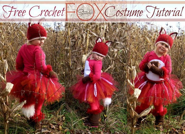 Free Crochet FOX Costume Tutorial