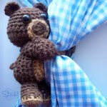 Curtain Hugging Bear