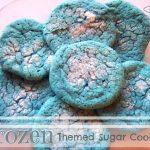 Frozen Themed Sugar Cookies