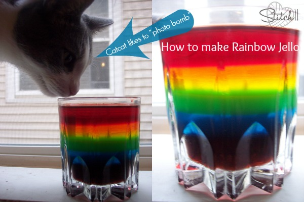 How to make Rainbow Jello