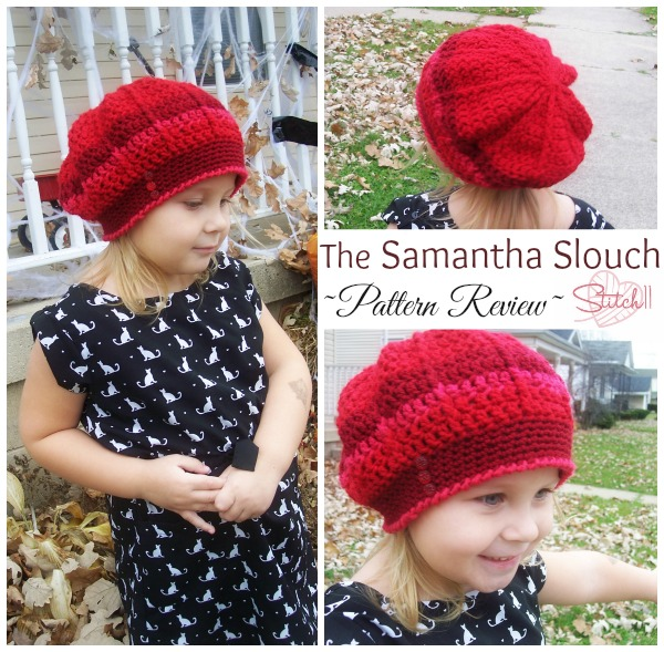 Samantha Slouch Pattern Review