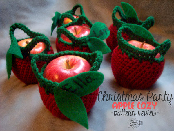 Christmas Party Apple Cozy