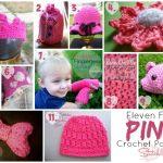 11 free pink crochet patterns
