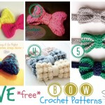 Five Free Crochet Bow Patterns