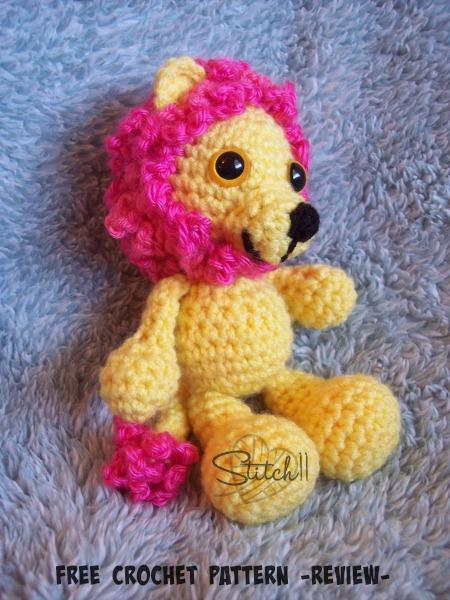 Free Lion Crochet Pattern