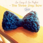 The Three Step Crochet Bow