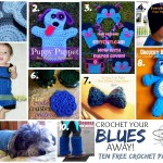 Crochet Your Blues Away - Ten Free Crochet Patterns