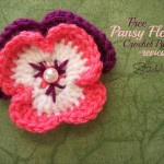 Free Pansy Flower Crochet Pattern - Review