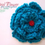 Spiral Flower - Free Crochet Pattern - Review