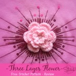 Three Layer Flower - Free Crochet Pattern Review
