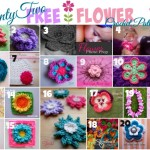 Twenty Two FREE Flower Crochet Patterns