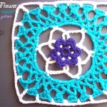 Lacy Flower Granny Square - Free Crochet pattern - Review