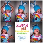 Bunny Hat - free crochet pattern - review