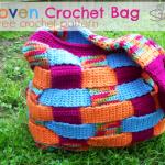 Woven Crochet Bag - Free Crochet Pattern