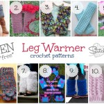 10 free leg warmer crochet patterns