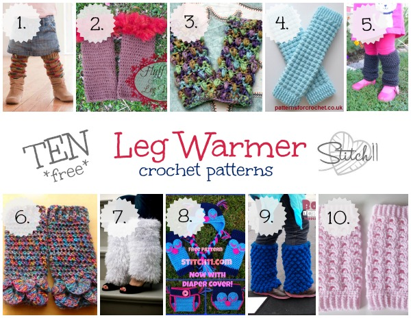 40 Free Leg Warmer Crochet Patterns Stitch40 Classy Crochet Leg Warmer Pattern
