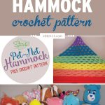 The Perfect Rainbow Pet Net Hammock Crochet Pattern