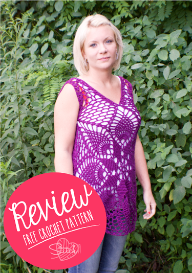 Summer Tank - Free Crochet Pattern - Review