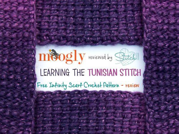 Moogly reviewed by Stitch11 - Free Infinity Scarf Crochet Pattern - review