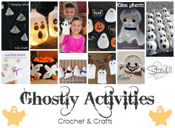 Ghostly Activities - Crochet and Crafts - Stitch11