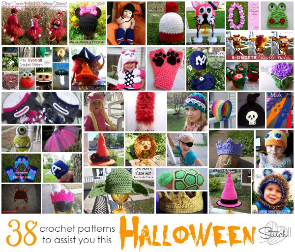 Stitch11 Halloween Crochet Patterns and Reviews