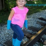 Child Size Leg Warmers and Fingerless Gloves - Free Crochet Pattern