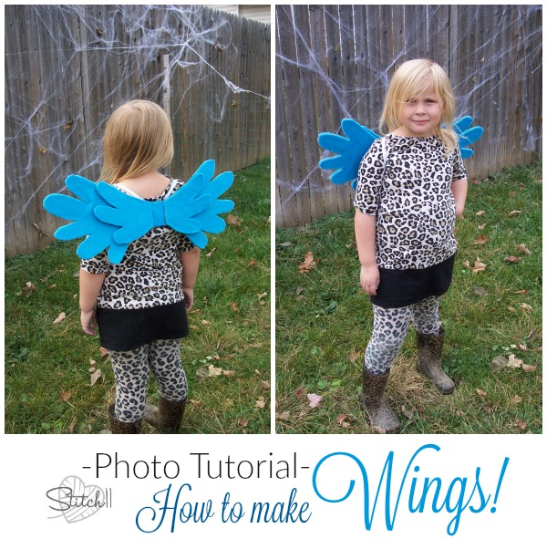 How to make WINGS - Photo tutorial