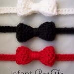 Infant Bow Tie - Free Crochet Pattern - Design by Stitch11