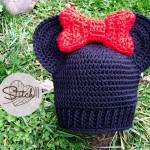 Child Size Minnie Mouse Hat - Free Crochet Pattern