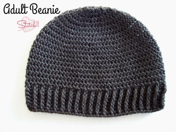 Be prepared to get a lot of orders to make this simple yet classic beanie hat crochet pattern. #crochet #crochethat #crochetbeanie #crochetpattern #crochetaccessories #crochetaddict #ilovecrochet #freecrochetpattern