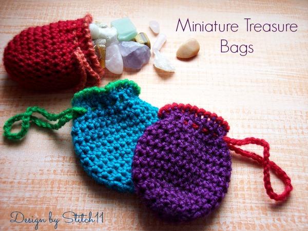 Miniature Treasure Bags