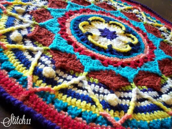 Free Mandala Crochet Pattern - Stitch11 Review