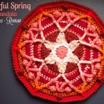 Colorful Spring Mandala - Free Crochet Pattern Review - Stitch11