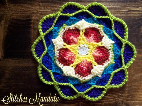 Stitch11 Mandala - Free Crochet Pattern
