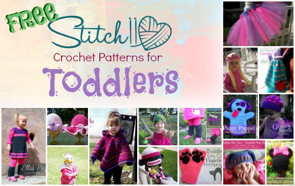 Free Stitch11 Crochet Patterns for Toddlers