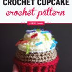 This Crochet Toy Cupcake can be a nice alternative to the usual plastic or rubber toys. It
