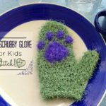 Dish Scrubby Glove - for kids - free crochet pattern