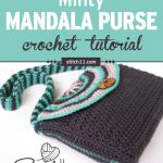 Check out this fun Bohemian style mandala purse crochet pattern. You