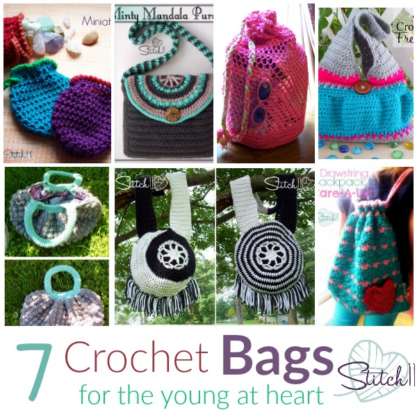 Seven Free Crochet Bag Patterns For The Young At Heart Stitch11