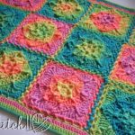 Retro Illusions Baby Blanket - Free Crochet Pattern by Stitch11