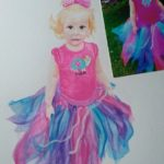 Stitch11 Watercolor - Boutique Bow - Olivias Tutu - TWO FREE CROCHET PATTERNS