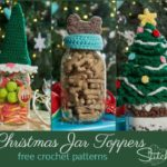 Free Crochet Christmas Jar Topper Patterns