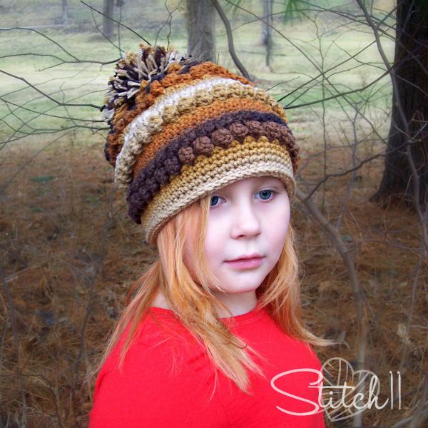 Rustic Love Slouch Crochet Pattern Stitch11