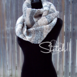 Somersault Winter Scarf - free crochet pattern - Stitch11