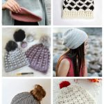 24 How to Crochet a Beanie for Teens Tutorials Header #crochetpatterns #crochethats
