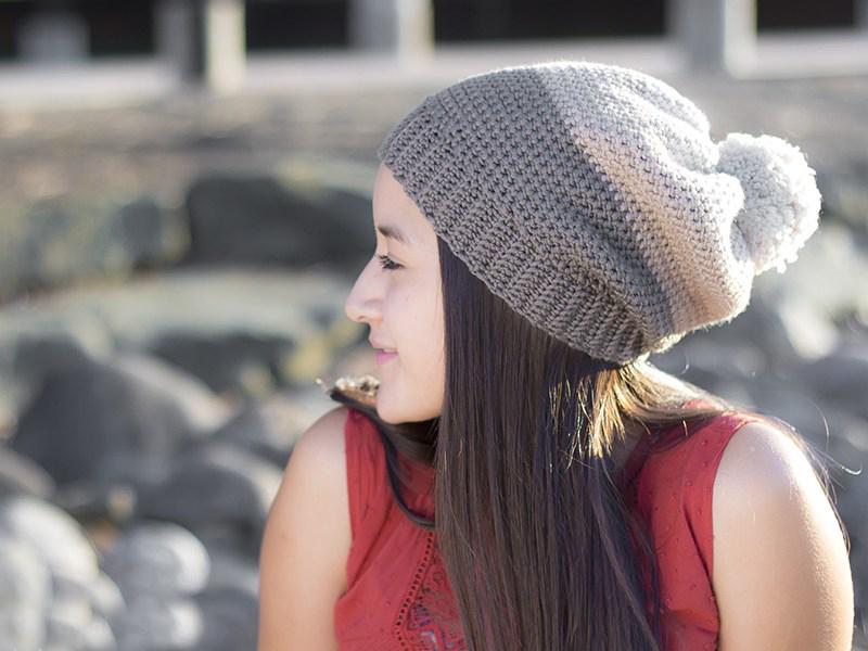 Carlyle Slouch Hat Crochet Pattern